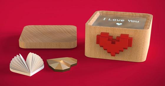 Hộp Love Box – Món quà handmade gửi gắm tình yêu