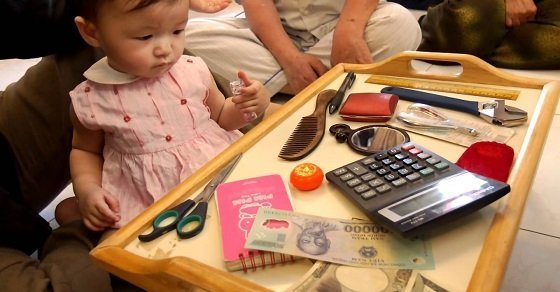 Cúng đầy tháng cho bé gái – hoạt động truyền thống dân tộc