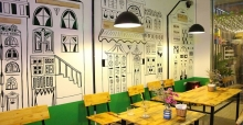 Cách trang trí quán ăn vặt nhỏ đẹp và đơn giản