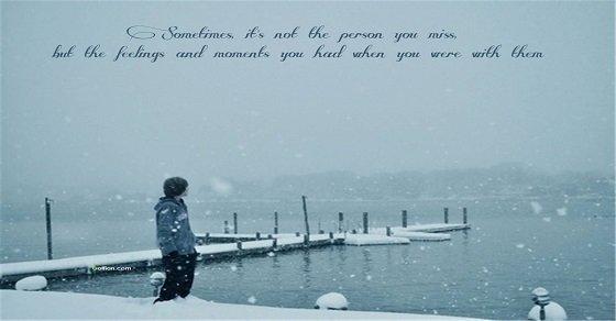 Stt tâm trạng cô đơn trong mùa đông