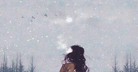 Stt về mùa đông cô đơn