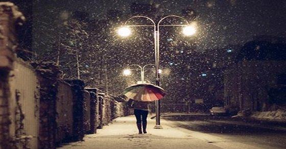Stt đêm đông lạnh cô đơn