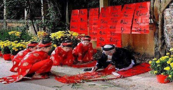 Thuyết minh về tết nguyên đán Việt Nam