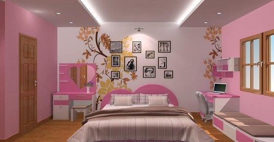 Trang trí phòng bằng những bức ảnh giúp tiết kiệm diện tích căn phòng