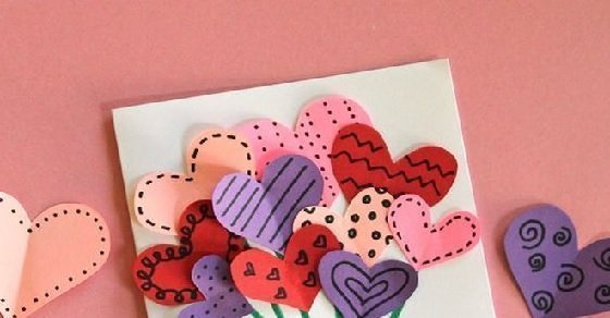 Cách trang trí bìa thiệp valentine tùy theo sở thích từng người