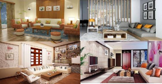 Mẫu trang trí nhà và phòng khách cấp 4 đẹp và đơn giản nhất