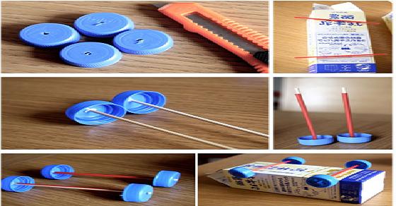 Cách làm đồ chơi khoa học đơn giản, cách làm đồ chơi từ vật liệu đơn giản