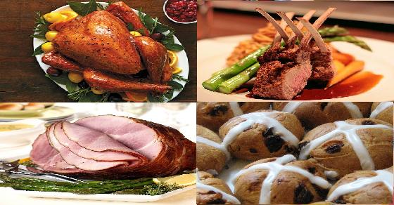 Những món ăn hấp dẫn trong lễ phục sinh