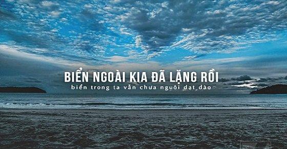 Câu status hay về biển