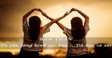 Stt về tình bạn đẹp - Những status hay nhất và chất nhất