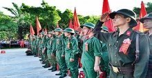 Lời chúc đi nghĩa vụ - Stt nhập ngũ, lời chúc tân binh lên đường nhập ngũ