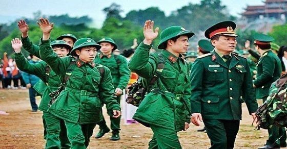 Lời chúc tân binh lên đường nhập ngũ hay
