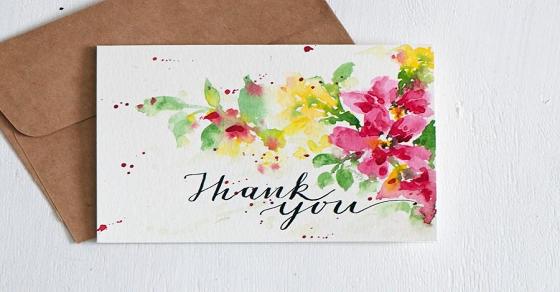 Thư cảm ơn đối tác – ý tứ trong từng câu chữ