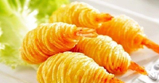 Món ăn vàng rụm, thơm ngon