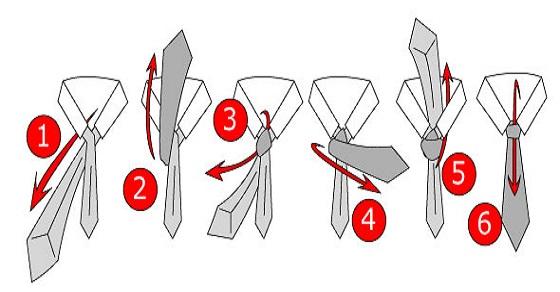 Hướng dẫn thắt cà vạt nhanh