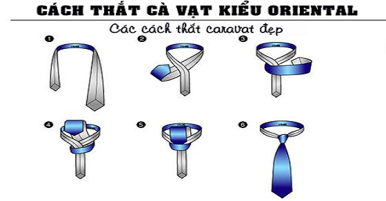 Hướng dẫn thắt cravat đẹp