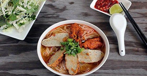 Cách nấu bún chả cá Đà Nẵng