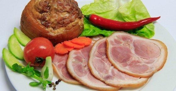 Các món ăn chế biến từ thịt lợn