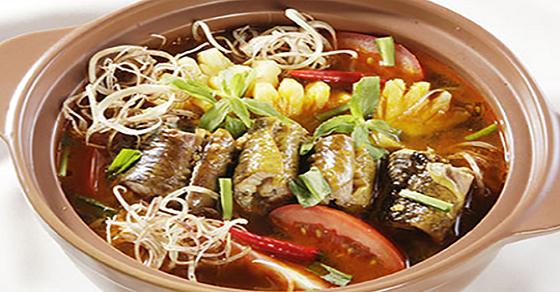 Hướng dẫn làm món lươn nấu hoa chuối