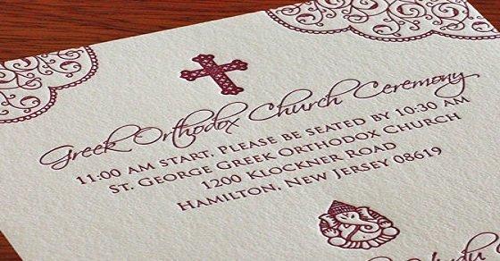 Mẫu thiệp cưới công giáo sang trọng dành cho cô dâu chú rể