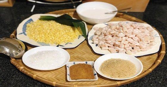 Nguyên liệu nấu chè bưởi vô cùng đơn giản và dễ tìm